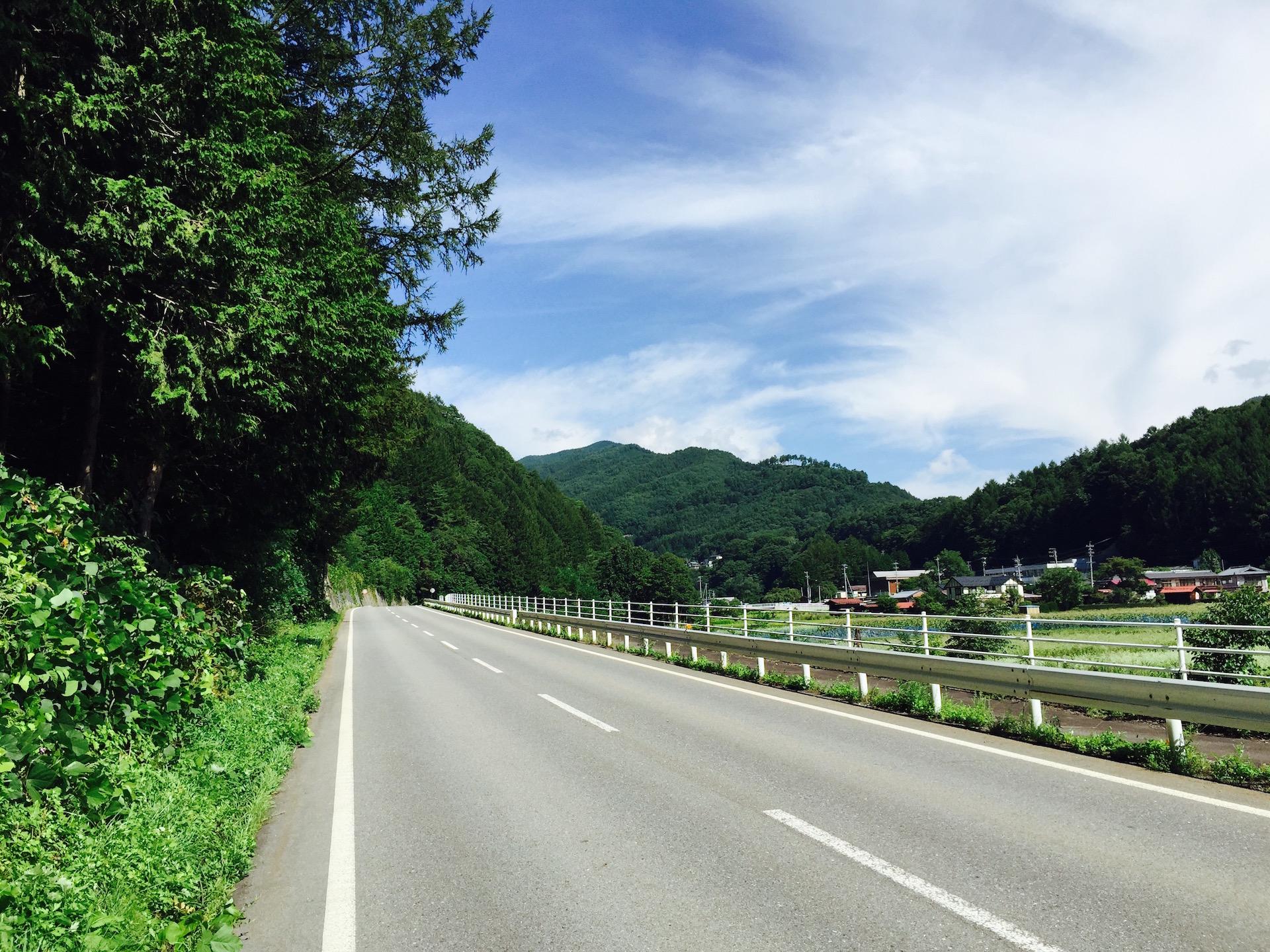 木曽川源流を訪ねてスーパー林道で乗鞍へ (1)